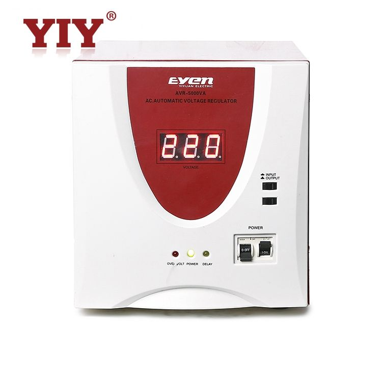 Hot Jual LED 1000va Generator Angin Perusahaan Voltage Regulator Single Phase Voltage Stabilizer untuk Keperluan Rumah Tangga