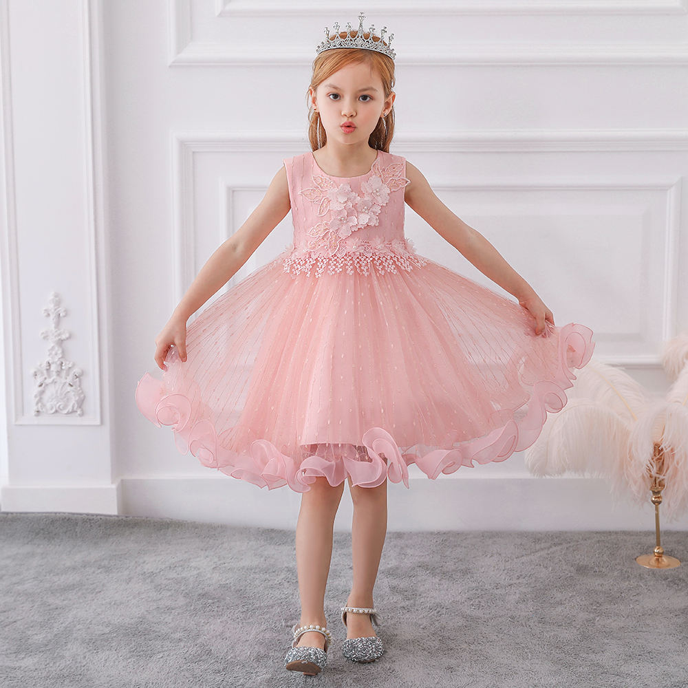 MQATZ Dresses For Girls Of 7 Years Old Children Clothes Kids Frock Designs Pictures Baby Party Wear L5101