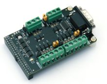 ALINX Brand RS232/RS422/RS485 Communication Module Directly-pluggable into ALINX Serial FPGA Development Board AN3485