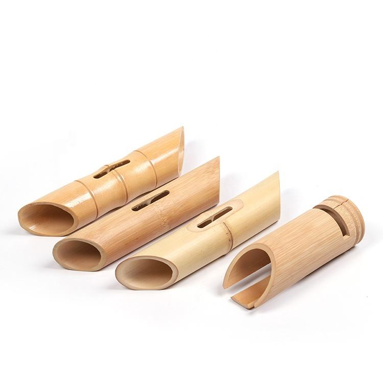 Graphic Customization [ Speaker ] BA-5010 New Product 100% Naturel Wireless Wooden Bamboo Loud Speaker Stand For Mobile Phone