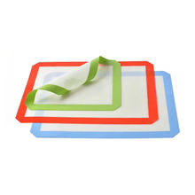 Custom Heat Resistant Cookie Silicone Baking Mat For Oven Baking