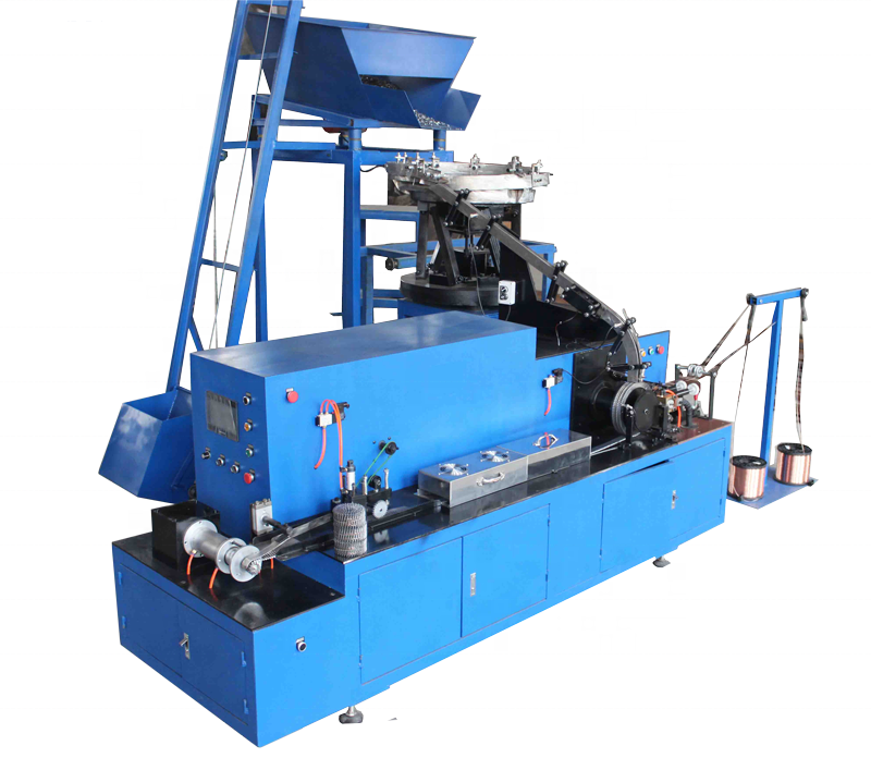 Touch Screen Coil Nail Making Machine factory price in turkey