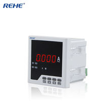 Single phase ampere ammeter & current panel meter ampvolt meter