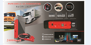30000mAh 24V Emergency Car Truck Jump Starter