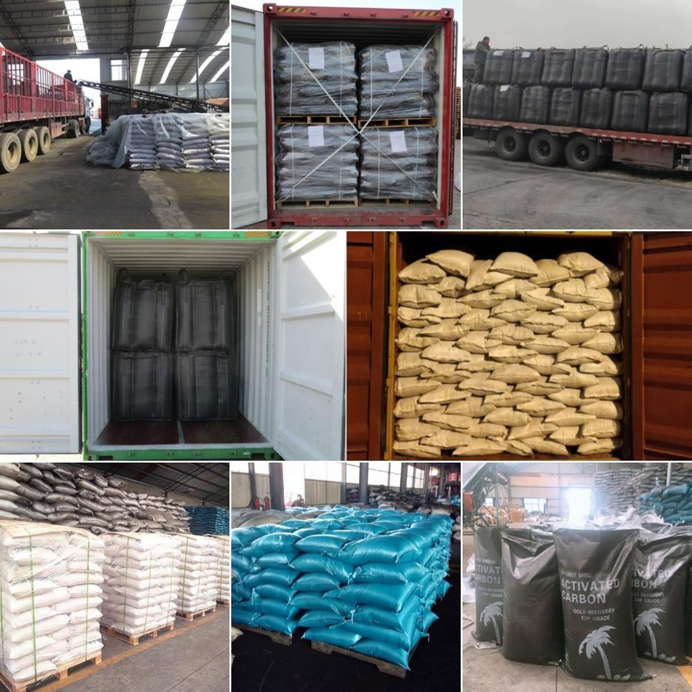 Hongya Powder Granular Coconut Shell Activated Carbon