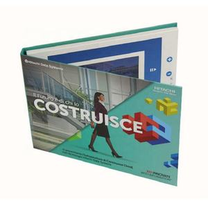 brochure packaging screen lcd video gift box