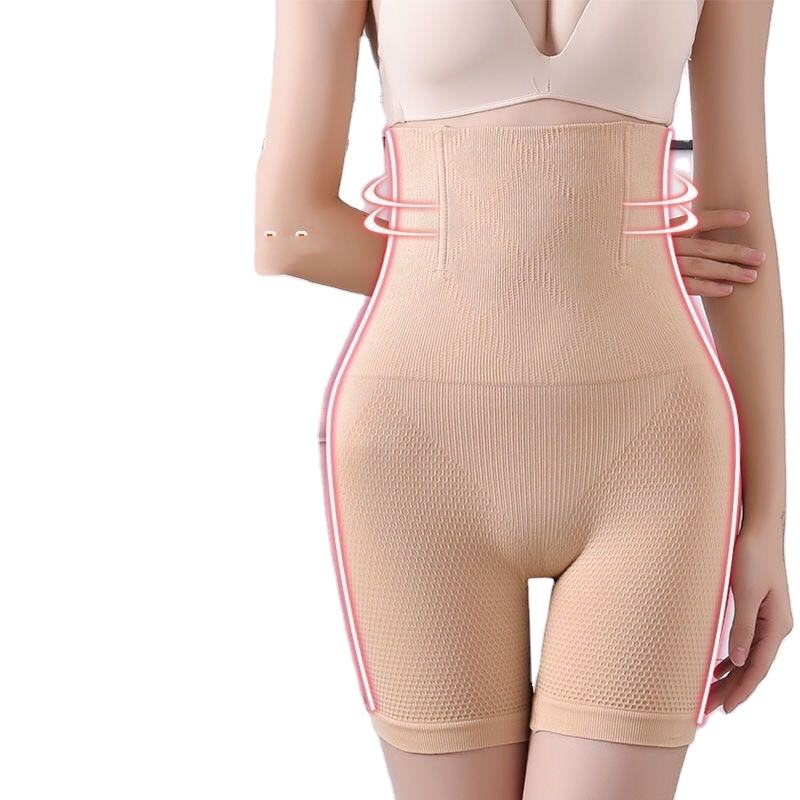 Strengthen the abdomen and thin legs and panties women's high waist weight loss postpartum shape slimming beauty body lifting hi