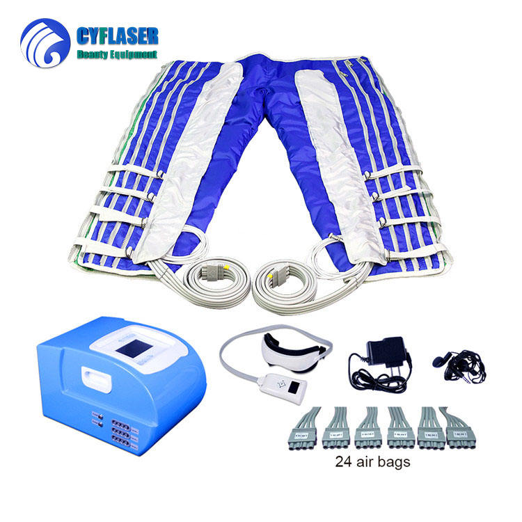 Lymphatic Drainage Upper clothes trousers suit Far Infrared Pressotherapy body slimming machine
