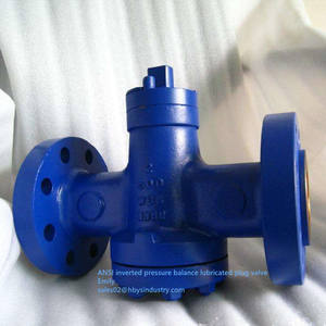 Inverted Pressure Balance ANSI Lubricated Plug Valve With Oil Nozzle