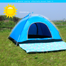 Large Size Quick Open Automatic Lazy Equipment Family Camping Tents High Density Rainproof Fabric Breathable