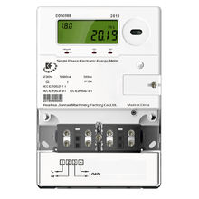 DDS6988 New GPRS/RF/PLC  Postpaid Multifunctional Single Phase Two Wire Electricity /Smart Energy Meter