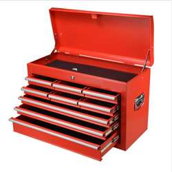 Portable and tool chest  with 9 drawers