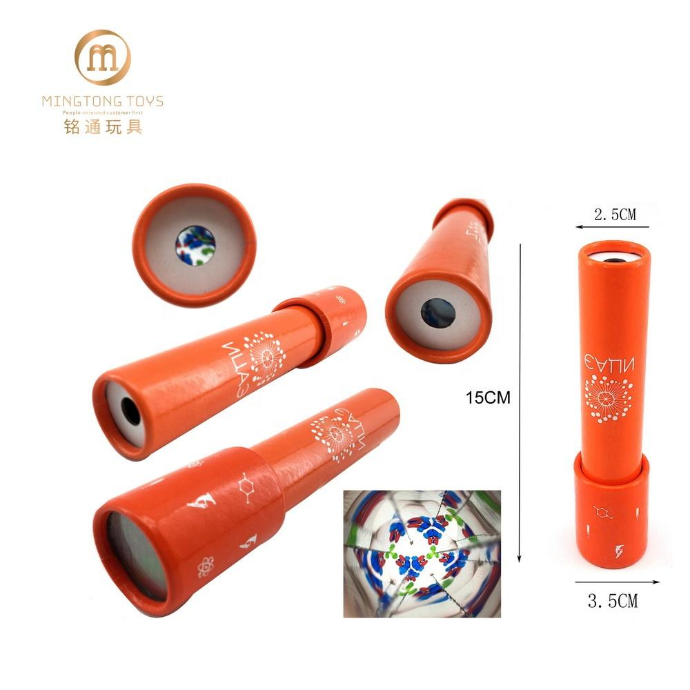 Classic Nostalgic bright-coloured custom kaleidoscope toy for kids