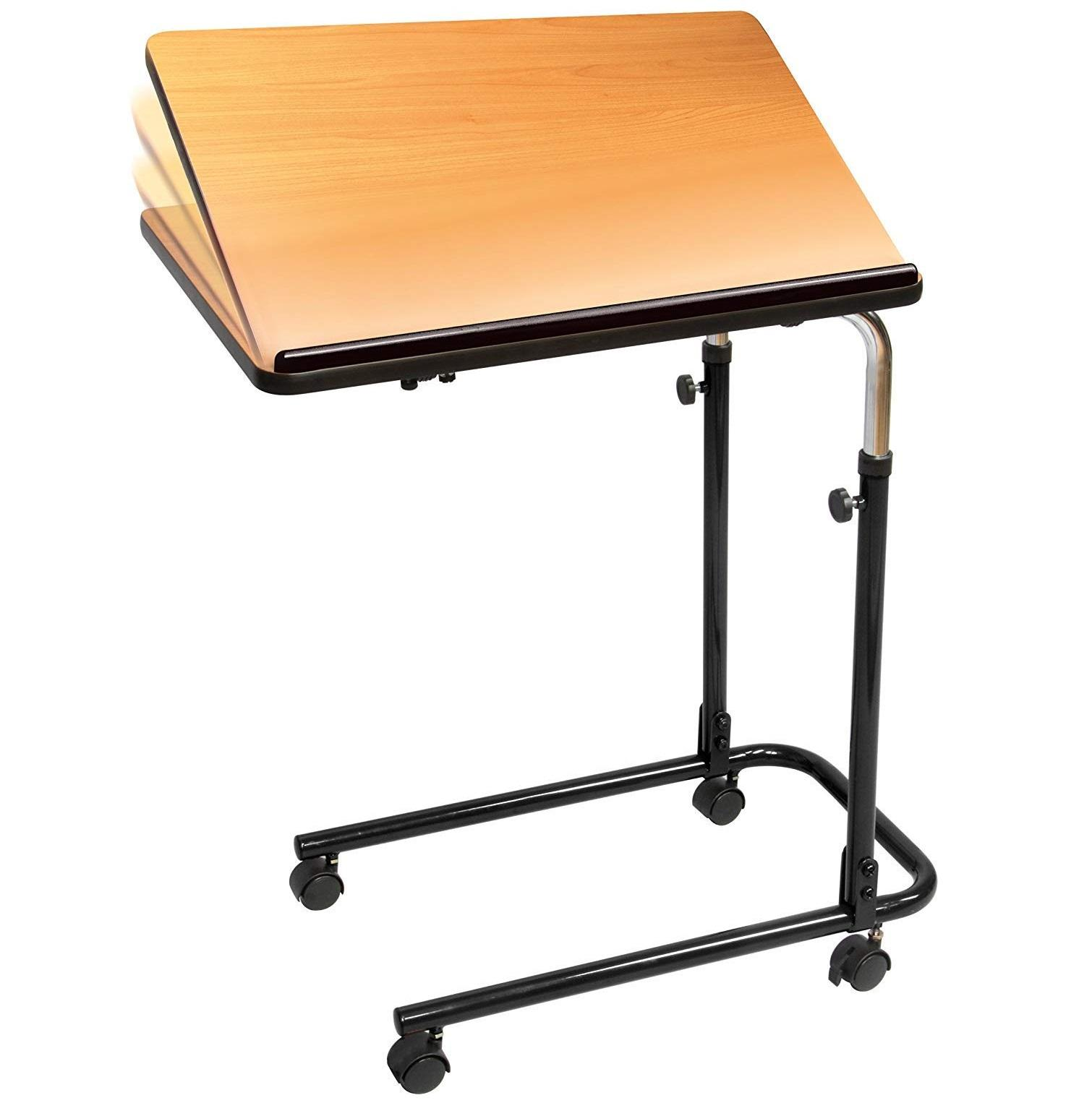 adjustable home hospital Auxiliar over bed table
