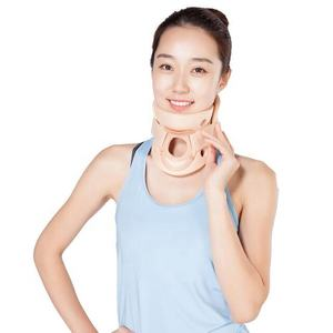 Physiotherapy Two pieces foam polymer adjustable cervical collar neck collar Philadelphia reduce spinal decompression