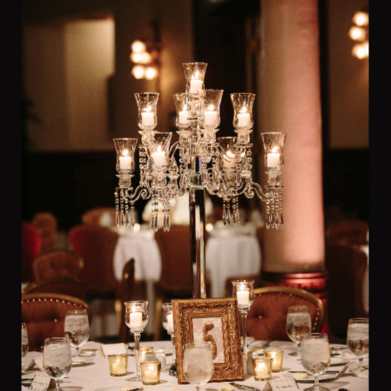 crystal globe centerpieces crystal table wedding candelabra wholesale
