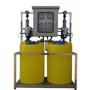 Effluent Treatment Plant Manual Chemical Mixing Dosing System