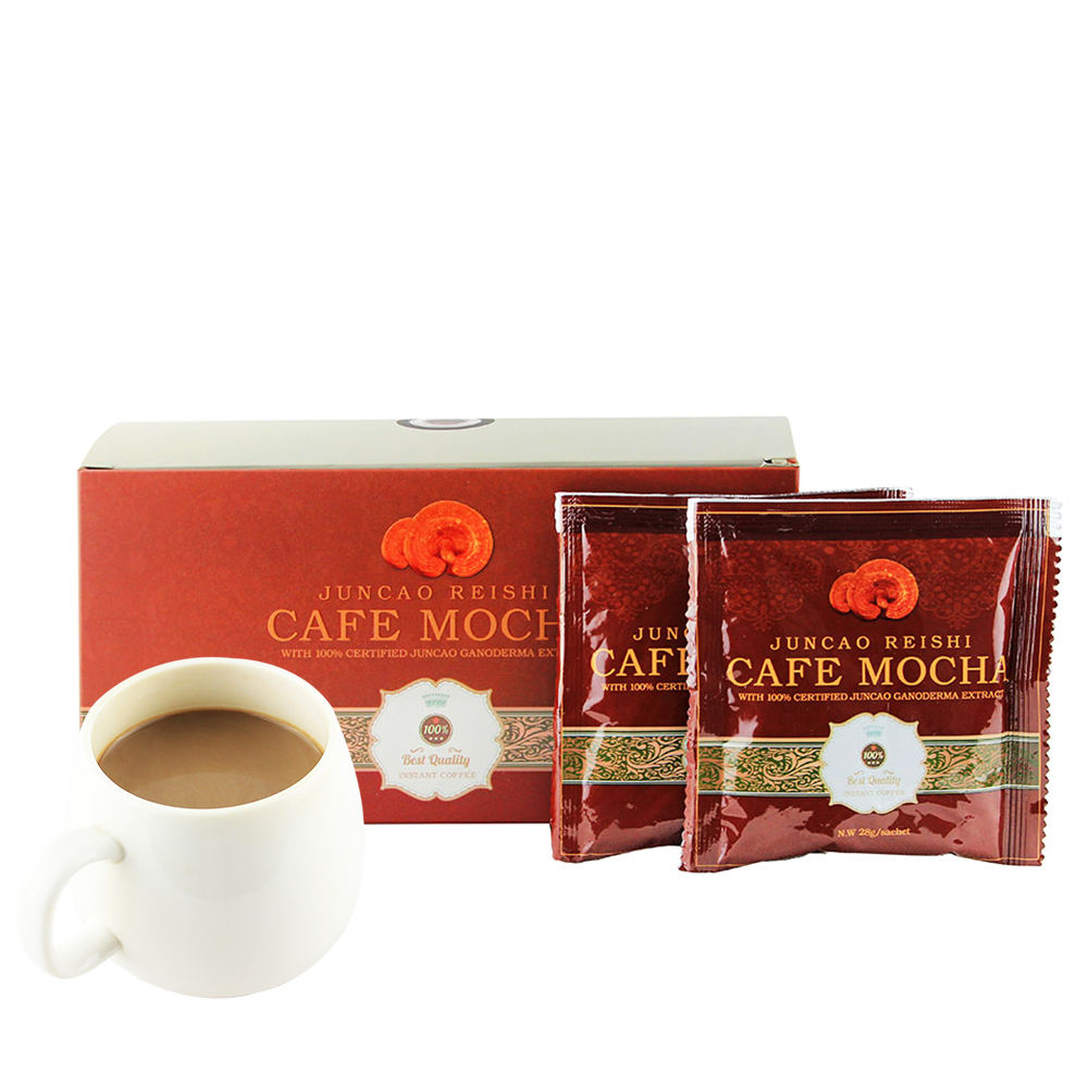 Healthcare Ganoderma Lingzhi Mocha Coffee