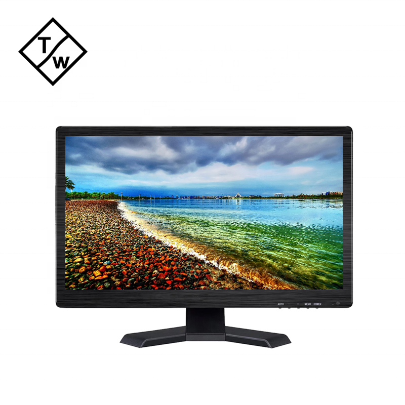 1600*900 LED LCD Display VGA HD DVI Monitor 19.5'' for Commercial Ads