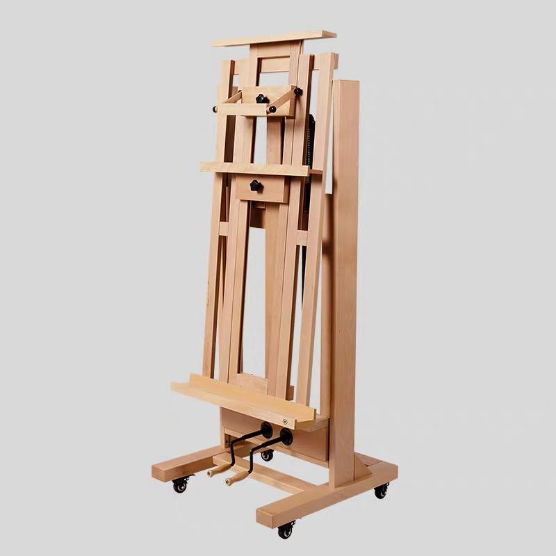 2020 double rocker wooden art easel