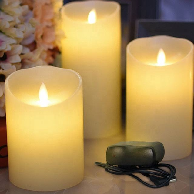 Hot selling usb oplaadbare led kaars diwali diya