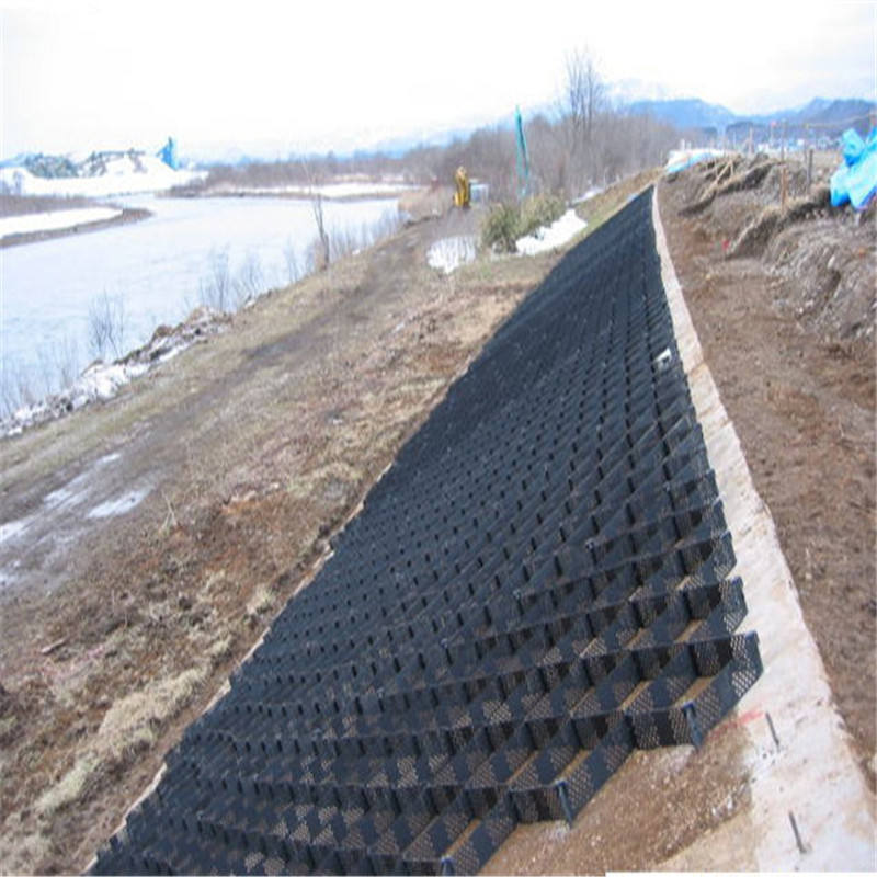 Gravel Stabilizer Grid Geocell Slope Control