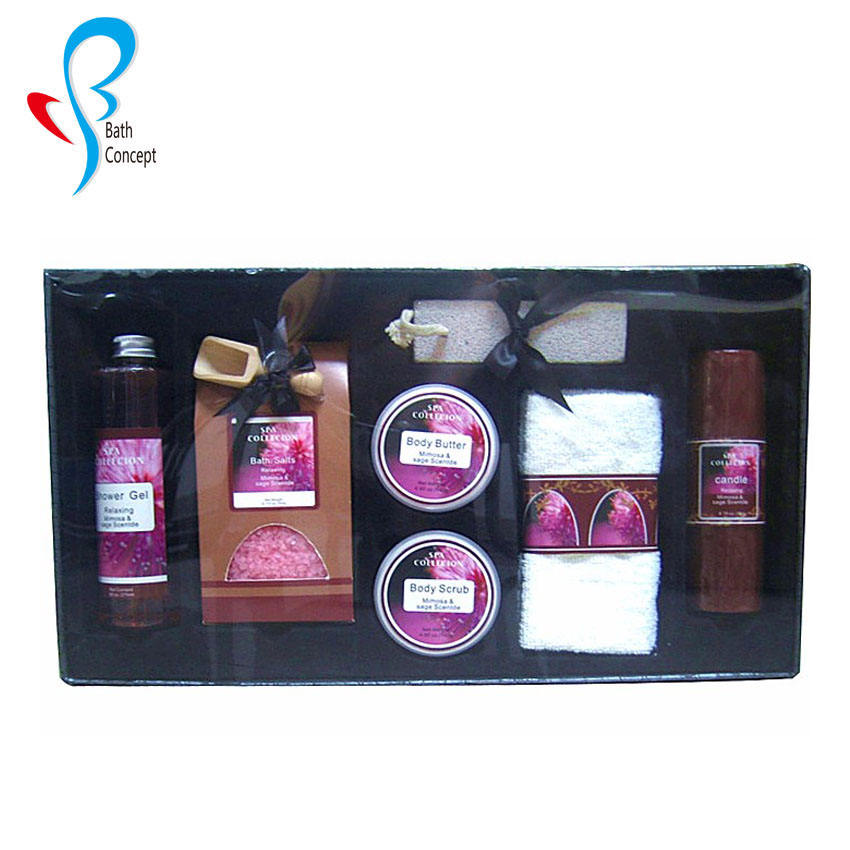 5 pcs OEM PromotionalSPA bath gift sets