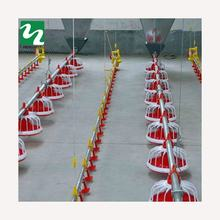 Automatic Poultry Farm Floor Raising Chicken Broiler Breeder Pan Feeder and Drinker System