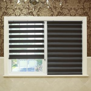 Black Light filteing roller shade zebra roller blinds