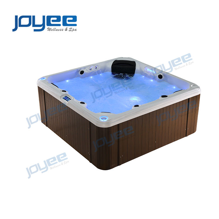 JOYEE New Model Spa Hot Tub with Jacuzzi Function Outdoor Spa Foot Jets Massage Spa Outdoor