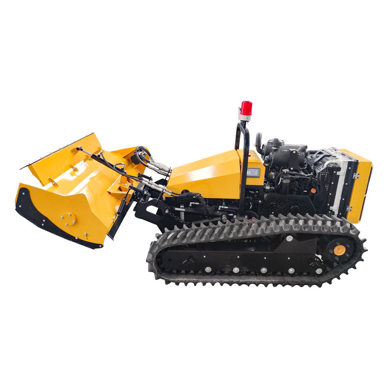 Powerful remote control lawn mower mini crawler lawn mower