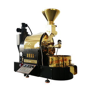 Yoshan Golden Home Gas Sample Coffee Bean Roaster Used Price Giesen 500g 1kg 2kg Mini Hot Air Coffee Roaster Machine for Sale