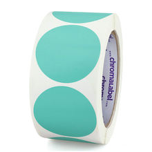 Cheap Self Adhesive Round Circle Blank Label Roll Bottle Print Custom Stickers