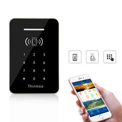 Waterproof Metal Touch-Screen wiegand rfid digital card read