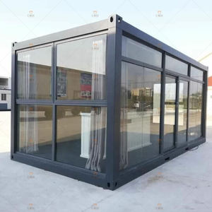 China prefab 20ft container home / flat pack container house for sale