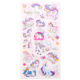 Customized Cartoon unicorn PVC Vinyl sticker for DIY and decorative in Scrapbooking