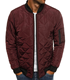 Jacket Sleeves 2020 New Jacket Men'S Long Sleeves Quilted Bomber Jacket With Pocket