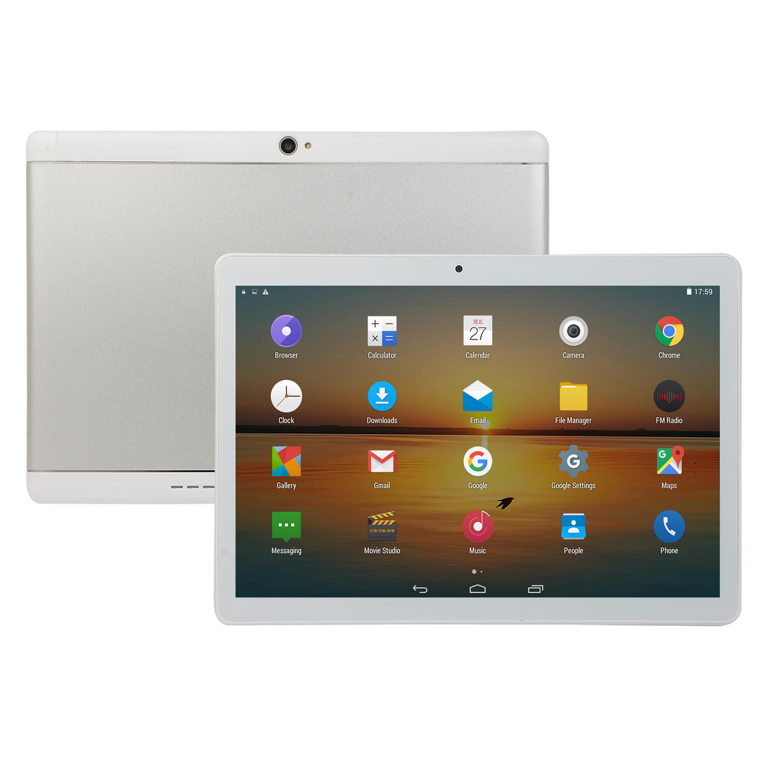 Mejor venta 10,1 pulgadas Tablet PC Android 8,1 MTK6580 1,5 GHz Quad Core 10,1 Tablet PC