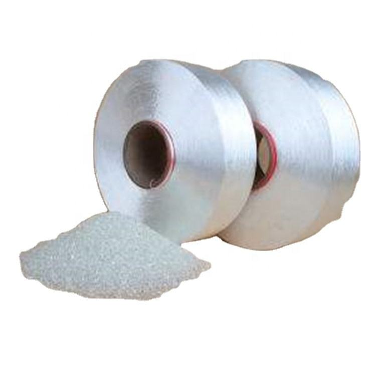 Recycled High Tenacity Polyester FDY Filament Yarn 500D white