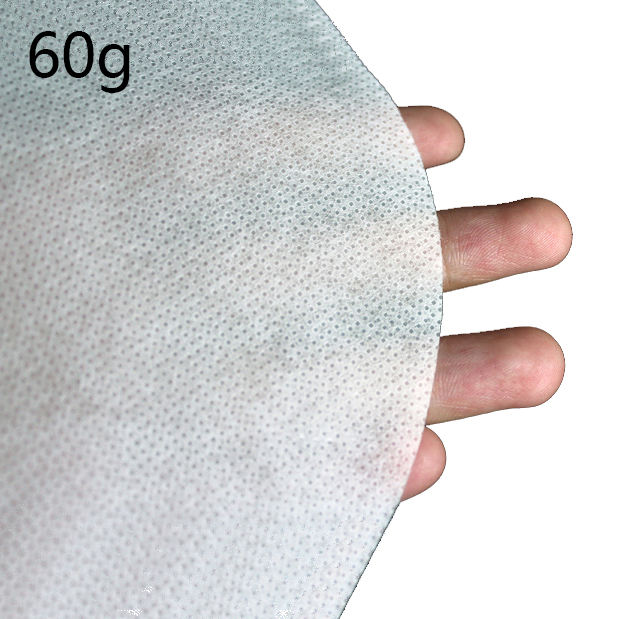 factory 60gsm white spunlace polyester nonwoven rayon wipe fabrics non-woven interlining non woven fabric in rolls for wipes