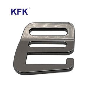 Customized Oem Shining Plating Matt Aluminium Strap Webbing Adjuster Ladder Lock G Hook Bag Metal Buckle