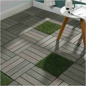 simple installation suportect wpc decking composite deck tiles for balcony