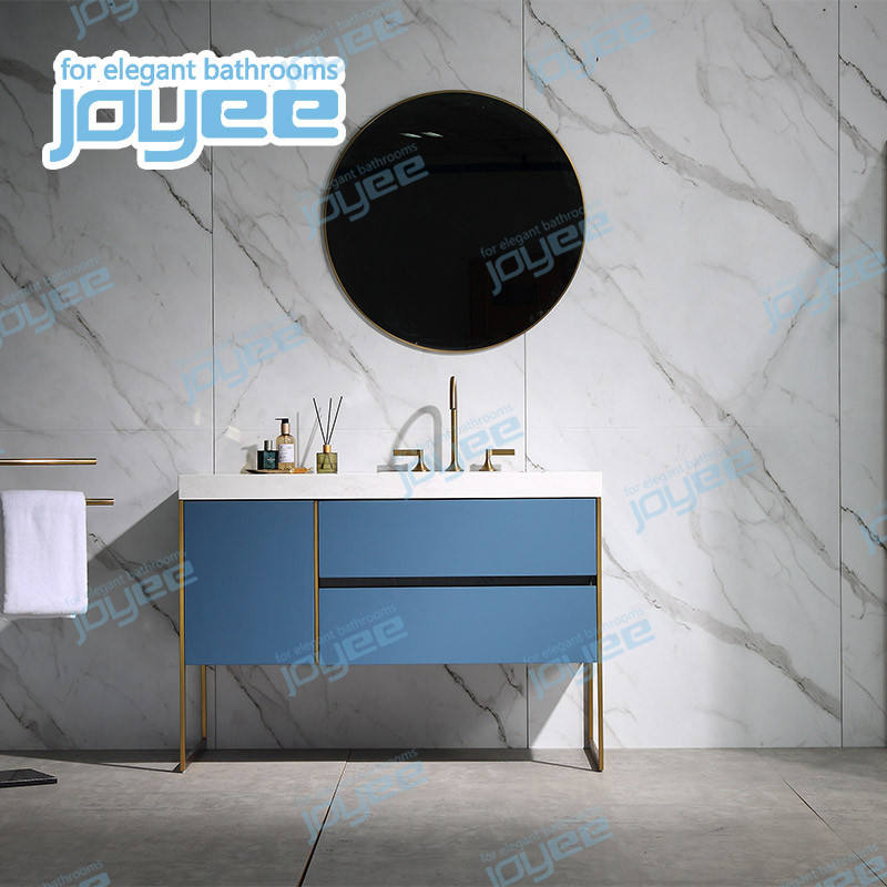 JOYEE factory direct sell plywood bathroom vanity cabinet with mirror and sink bathroom furniture