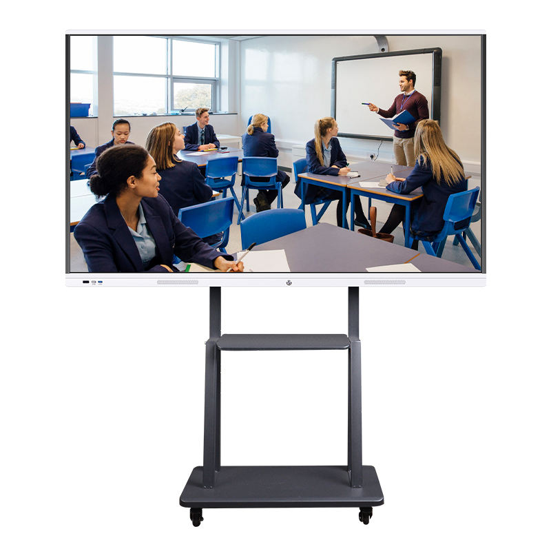 "weier 55"" 65"" 75inches 10 points all in one touchscreen classroom interactive smart whiteboard"
