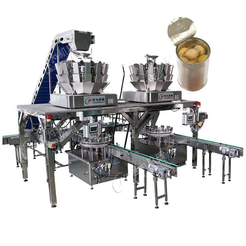 tin tomatoes canning packing machine