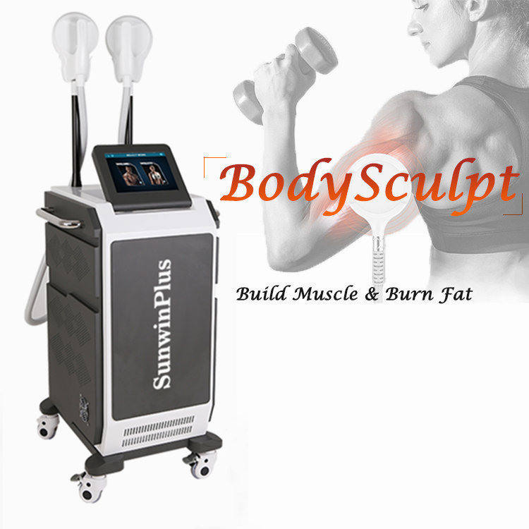 Amazing Technology 2020 TeslaSculpt EMS Muscle Stimulator HIEMT 7 Tesla High Intensity Electromagnetic Body Contouring Slimming