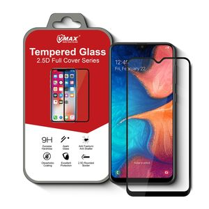 Best selling Full glue mobile phone 9H 5D Tempered glass for Samsung Galaxy A20s