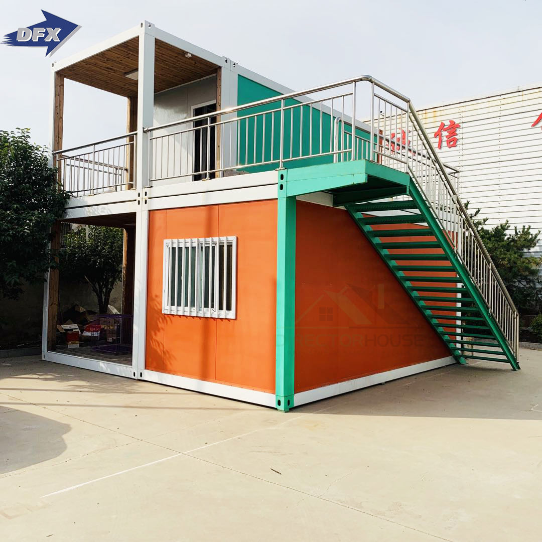 prefabricated shipping container apartment office morden luxury prefab house for sale