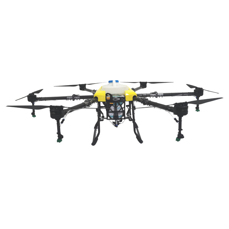 Popular agricultural uav professional farming machine 16l pesticide sprayer crop duster gps