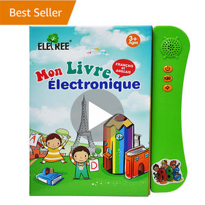 Eletree Wholesale electronic children learning kids French toys books for toddlers